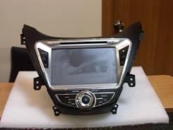 Штатное головное устройство Hyundai Elantra 2009- c GPS! (Омск)