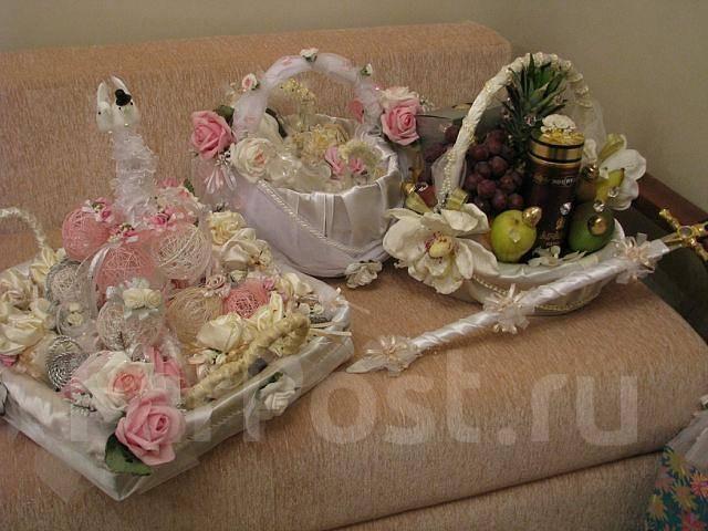 Корзины армянские свадебные