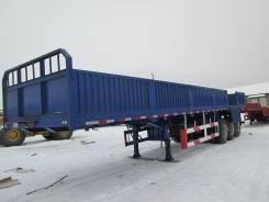 Jian Cheng. Бортовой полуприцеп-контейнеровоз 60 тонн, 60 000 кг.