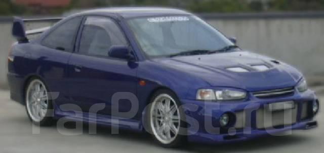 Обвес кузова аэродинамический. Mitsubishi Lancer