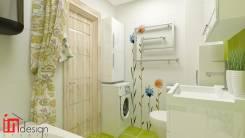 """Эко-тематика для семейной пары от Студии """"Ин Дизайн"""". Тип объекта квартира, комната, срок выполнения месяц"""