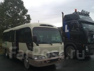 Пассажирские перевозки автобусами 24 места. С водителем