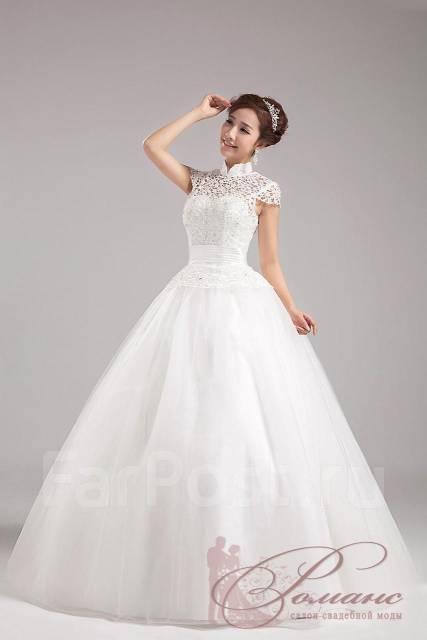 свадебные закрытые платья по владивостоке