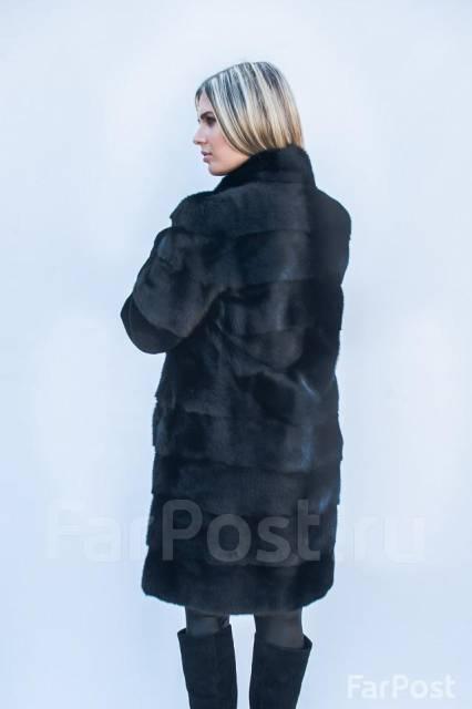 норковая шуба стойка воротник фото