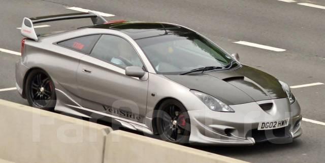 Порог пластиковый. Toyota Celica
