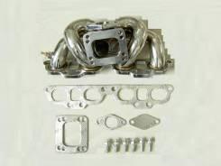 Коллектор выпускной. Nissan Silvia, S13, S14, S15 Nissan 200SX Nissan 180SX Двигатель SR20DET