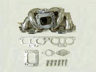 Коллектор выпускной. Nissan Silvia, S13, S15, S14 Nissan 180SX Nissan 200SX, S13, S14 Двигатель SR20DET