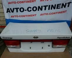 Крышка багажника. Nissan Sunny, FB15 Двигатель QG15DE