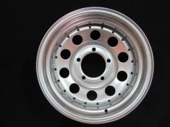Steel Wheels. 10.0x15, 5x139.70, ET-24, ЦО 110,0 мм.