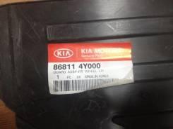 Подкрылок. Kia Rio