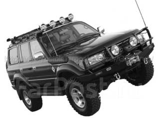 Шноркель. Lexus LX450 Toyota Land Cruiser