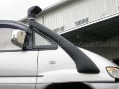 Шноркель. Mitsubishi Delica