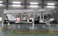 Jinbo. Автовышка KWP400A (Ю. Корея) 40м на шасси Daewoo (5 тонн), 40,00м.