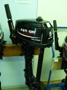 Parsun. 5,00л.с., 2х тактный, бензин, нога S (381 мм), Год: 2015 год