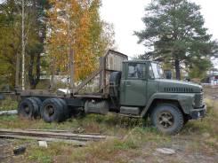 Краз. Лесовоз КРАЗ, 1 486 куб. см., 13 000 кг.
