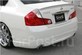 Обвес кузова аэродинамический. Nissan Fuga. Под заказ
