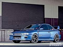Обвес кузова аэродинамический. Subaru Impreza, GC8