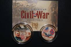 Набор монет Гражданская война США