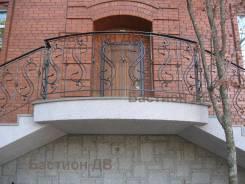 Художественая ковка. Леера, Лестницы, Заборы, др. металлоконструкции.