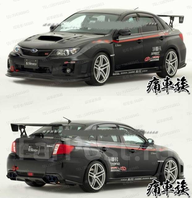 Оракал. Subaru Impreza WRX STI, GRB