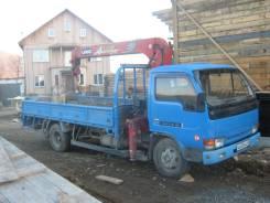 Nissan Diesel Condor. Продам грузовик с краном , 4 600 куб. см., 4 000 кг.