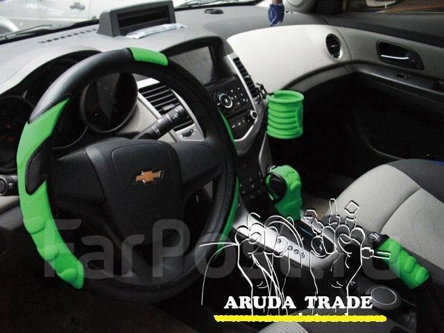 Автомобильный набор YeeLoo из 4-х предметов (зеленый)
