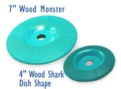 Шлифовально-режущий диск Wood Shark с карбидным покрытием.