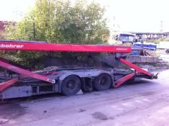 Kassbohrer. /Supertrans ATP прицеп, автовоз, 18 000 кг.