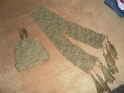 Шапка и шарф. Рост: 134-140 см
