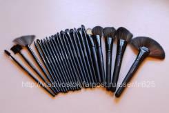 Набор кистей для макияжа MAC (аналог), 24 предмета