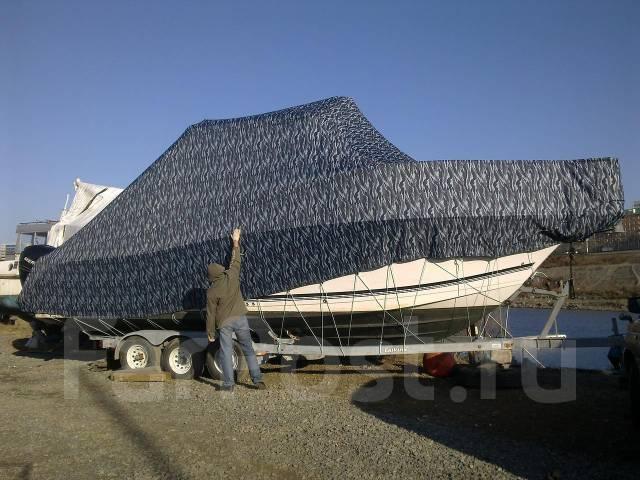 Тенты на катера. Перетяжка и ремонт катерной мебели.