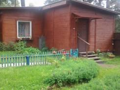 Сдается одноэтажный гостевой домик в г. Луга на берегу озера Омчино. От частного лица (собственник)