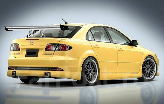 Обвес кузова аэродинамический. Mazda Mazda6 Mazda Atenza