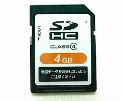 SD карточка для навигационной системы NSCN-59C.