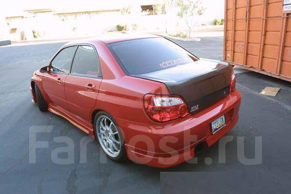 Губа. Subaru Impreza WRX STI, GDB