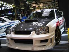 Бампер. Subaru Impreza WRX STI, GDB, GD