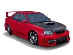 Обвес кузова аэродинамический. Subaru Impreza WRX STI, GDB