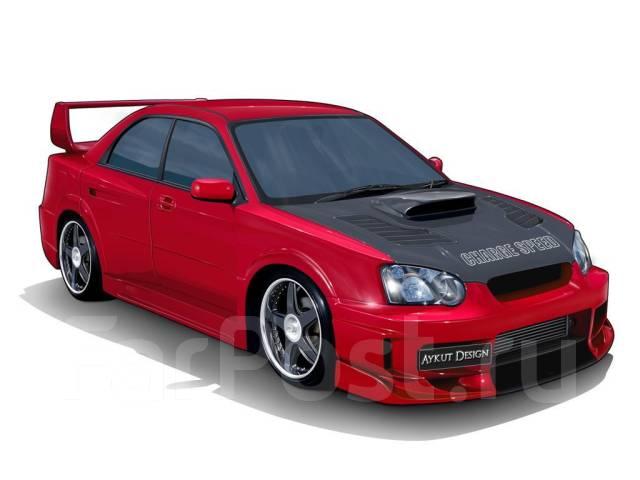 Обвес кузова аэродинамический. Subaru Impreza WRX STI