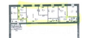 Офисные помещения. 85 кв.м., Промышленная ул 20 Б, р-н Железнодорожный. План помещения