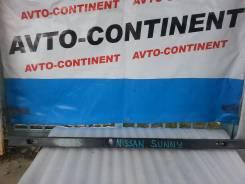 Жесткость бампера. Nissan Sunny, FB15 Двигатель QG15DE