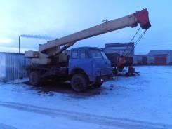 "МАЗ 5334 СМК 101, 1985. Автокран ""Ивановец"", 11 150 куб. см., 10 000 кг., 14 м."