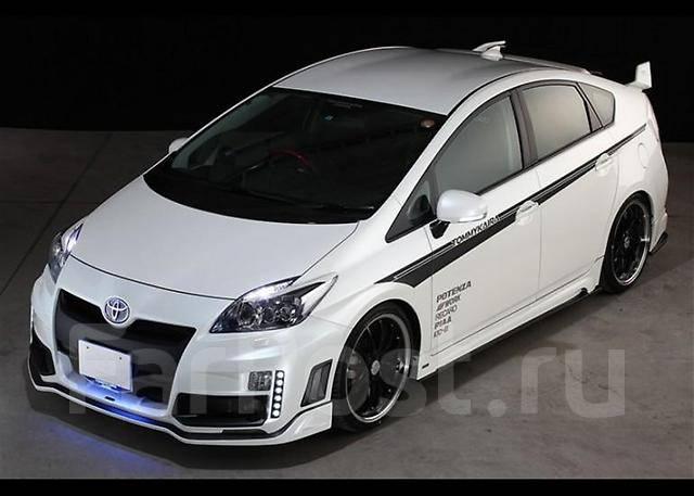 Скидка! Комплект обвесов Tommy Kaira на Toyota Prius ZVW30 2009-.