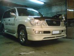 Губа. Toyota Land Cruiser, UZJ100W Toyota Land Cruiser Cygnus, UZJ100W