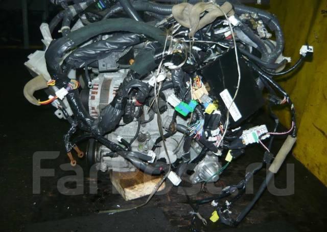 Двигатель в сборе. Nissan March, YK12 Двигатели: HR15DE, MA09ERT, MA09RT, MA10ET, MA10T