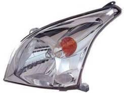Фара лев Toyota L/C PRAD0 120 03-10 под корр