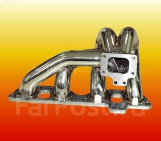 Коллектор выпускной. Nissan 200SX, S14, S13 Nissan Silvia, S13, S15, S14 Nissan 180SX Двигатель SR20DET