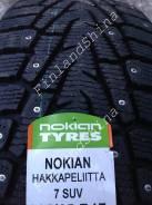 Nokian Hakkapeliitta 7 SUV. Зимние, шипованные, 2015 год, без износа, 4 шт