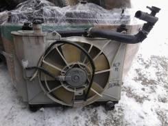 Радиатор охлаждения двигателя. Toyota Sienta, NCP81 Двигатели: 1NZFE, 1NZ