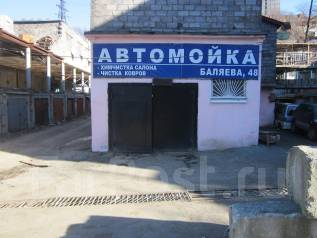Боксы гаражные. улица Баляева 48а, р-н Баляева, 102,0кв.м., электричество, подвал. Вид снаружи