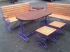 Кованую мебель качели беседки